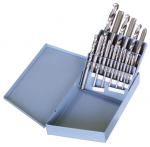 18 Piece TAP-DRILL SET - Metal Box