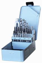 29 Piece DRILL & TAP SET - Metal Box