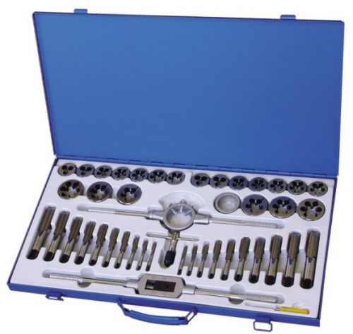 45 Piece BSW/BSF ALLOY SET - Metal Box
