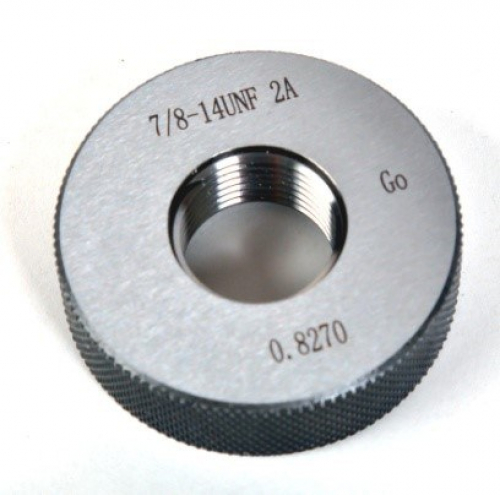 "11/16""x24 UNEF 2A Go Thread Ring Gauge"